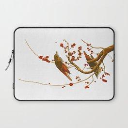 Hermit Thrush Bird Laptop Sleeve