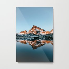 Ansel Adams Wilderness III - Banner Peak at Sunrise Metal Print