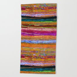 Indian Colors Beach Towel