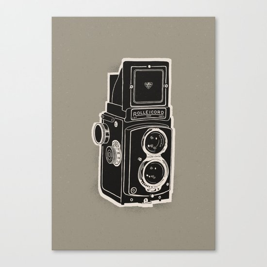 Rolleicord Canvas Print