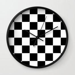 Checkerboard pattern Wall Clock