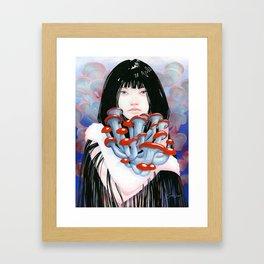 Collective Embrace Framed Art Print