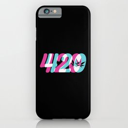 420 | Smoke Weed Cannabis Pot Gift Ideas iPhone Case