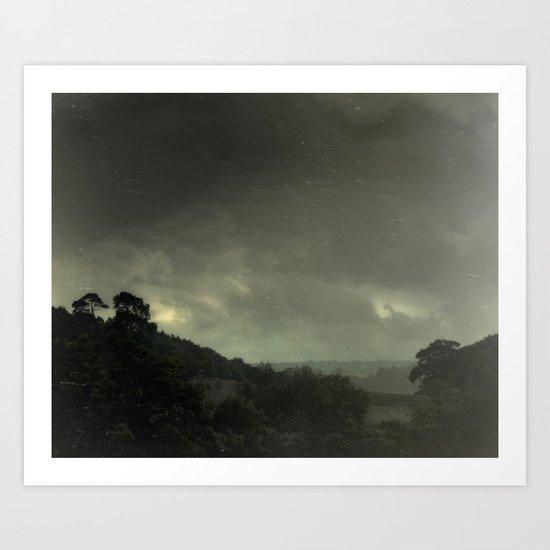 The Hills Show The Way Art Print