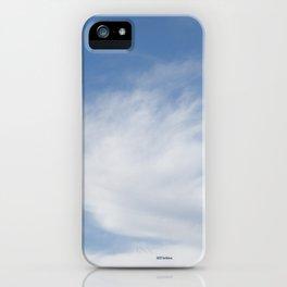 Just Clouds #3 iPhone Case