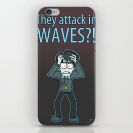 Guardian Ghost- THEY COME IN WAVES iPhone Skin