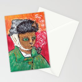 Vincent Van Miaou Stationery Cards