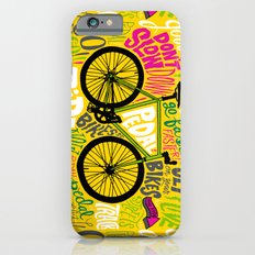 RIDE YOUR BIKES iPhone 6 Slim Case