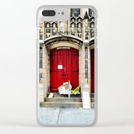 7th Street Clear iPhone Case