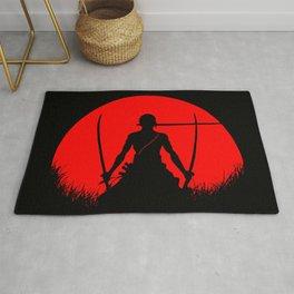 Red Moon Zoro Rug