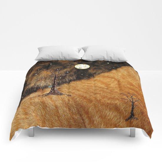 Catscape 1 Comforters