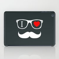 hipster iPad Cases featuring Hipster by Hipster