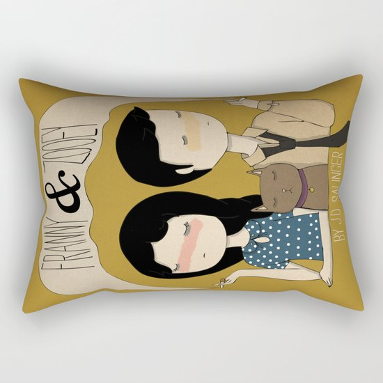 Franny & Zooey Rectangular Pillow