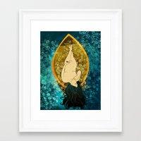 sailing Framed Art Prints featuring Sailing by Elsa Herrera-Quinonez