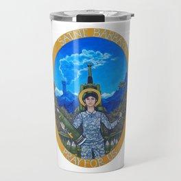 Saint Barbara Travel Mug