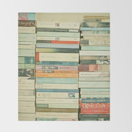 Bookworm Throw Blanket