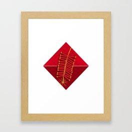 Firecrackers Vietnamese Lunar New Year Phao Tet Holiday Framed Art Print