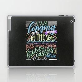 by the sea - dracula Laptop & iPad Skin