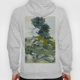 The Rocks by Vincent van Gogh, 1888 Hoody