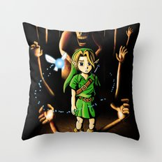 The Dead Hand Resist Him. Throw Pillow
