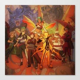 jincuriki bijuu Canvas Print