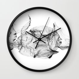 Clean Flow Wall Clock