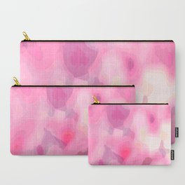 Pink Caprice Accent Carry-All Pouch