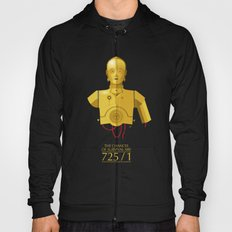 Never Tell Me The Odds (C3P0) Hoody