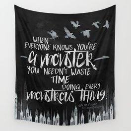 Six of Crows - Monster Wall Tapestry