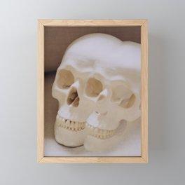 Skulls Framed Mini Art Print
