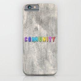 Community Paint iPhone Case