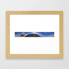 Big Rock Repeater Framed Art Print