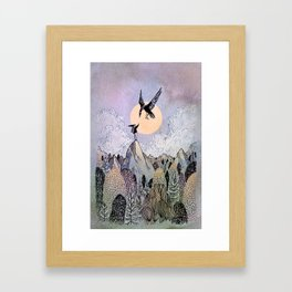 Highest Framed Art Print