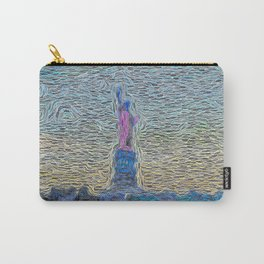 Statue of Liberty in Glorious Existence Carry-All Pouch