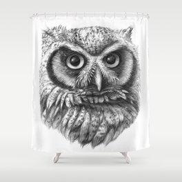 Intense Owl G137 Shower Curtain