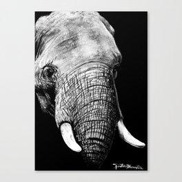L'Elephant Canvas Print
