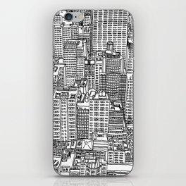 New York View 3 iPhone Skin
