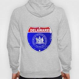 Delaware  Interstate Sign Hoody