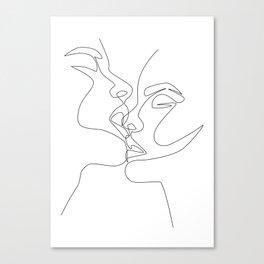 Intense & Intimate Canvas Print
