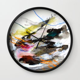 Day 56: Move gently with nature and things will fall into their rightful place. Wall Clock