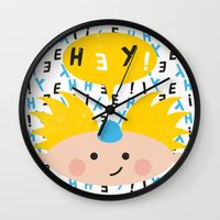 arnold Wall Clocks featuring Hey! Arnold by Carly Watts