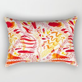 Orange joy Rectangular Pillow