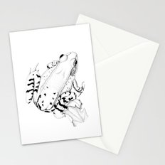 Leopard Frog Stationery Cards