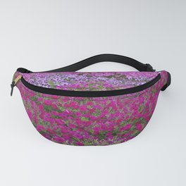 Waves of color on a sea of Petunias Fanny Pack