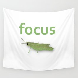 Focus Grasshopper Wall Tapestry