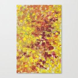 Autumn Abstract Canvas Print