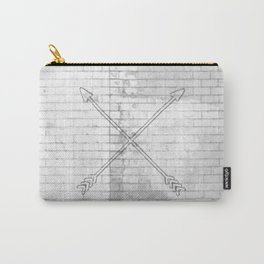 brick crossed arrows Carry-All Pouch