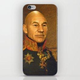 Sir Patrick Stewart - replaceface iPhone Skin