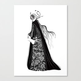 The Norse Goddess Snotra Canvas Print