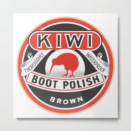 Vintage Kiwi Metal Print